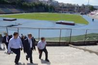 AHMET ÇıNAR - Vali Çınar Ve Beraberindeki Heyet Stadı İnceledi