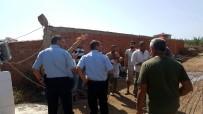 BENZIN - Balıkesir'de İnşaatta Göçük Açıklaması 1 Yaralı