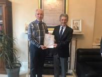 İRLANDA - Belediye Başkanı Kamil Saraçoğlu'na Dublin Büyükelçiliğinde 'Teşekkür Belgesi' Sürprizi