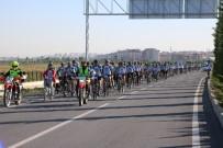 YEŞILDAĞ - Beyşehir Gölü Etrafında Bisiklet Turu Başladı
