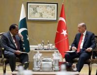 İRAN CUMHURBAŞKANı - Cumhurbaşkanı Erdoğan İran Ve Pakistan Liderleriyle Görüştü