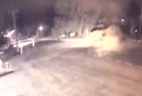 Gökçeada'da 2 Kişinin Öldüğü Kaza Güvenlik Kamerasında