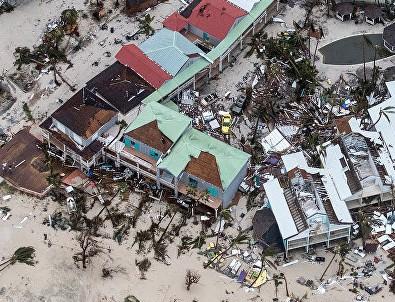 Irma kasırgası ilerliyor