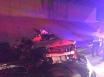 RAMAZAN YıLDıRıM - Kontrolden Çıkan Otomobil Alt Yola Uçtu Açıklaması 2 Ölü