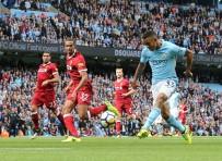 MANCHESTER - Manchester City, Liverpool'a Gol Oldu Yağdı