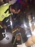 Milas'ta Motosiklet Otomobille Çarpıştı Açıklaması 1 Yaralı