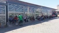 METEOROLOJI GENEL MÜDÜRLÜĞÜ - Taksim'de Vatandaşların Sıcakla İmtihanı