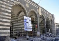 KUBBE - Parlı Sefa Cami Ve Medresesi Restorasyonu Devam Ediyor
