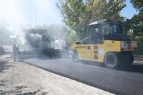 ERCIYES - Talas'ta Asfalt Çalışmaları Devam Ediyor
