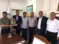 YUSUF ÖZDEMIR - TAŞGAD'tan Kaymakam Özkan'a Ziyaret