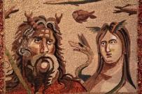 ZEUGMA - Yöresel Malzemelerden Mozaik Yaptı