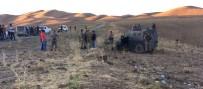 BEYDAĞı - Zırhlı Araç Devrildi Açıklaması 1 Şehit, 3 Yaralı