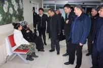 CENGIZ AYDOĞDU - AK Parti Heyeti Hasta Ve Hasta Yakınlarını Ziyaret Etti