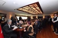 ENGELLİLER KONFEDERASYONU - Ankara Büyükşehir Belediye Başkanı Tuna Vatandaşların Sorunlarını Dinledi