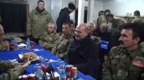 Bakan Soylu, Kato Üs Bölgesinde Askerlerle Yemek Yedi