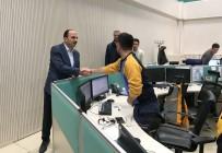 POLİS KARAKOLU - Başkan Altay, 2018'İ Çalışanlarla Karşıladı