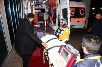 Bursa'da Çatıdan Düşen Şahıs Ağır Yaralandı