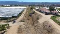 CENGIZ ERGÜN - Manisa'da Altyapı Ve Dere Temizlik Çalışmaları Hız Kazandı