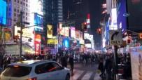 MANHATTAN - New York'ta Yeni Yıl Güvenlik Önlemleri Altında Kutlandı