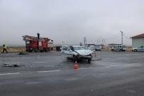 GÖRGÜ TANIĞI - Niğde'de Trafik Kazası Açıklaması 3'Ü Çocuk 6 Yaralı