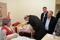 YıLMAZ ŞIMŞEK - Niğde'de Yeni Yılın İlk Bebeği Eymen Bebek Oldu