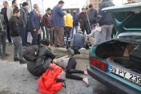 KıZıLPıNAR - Otomobiller Çarpıştı Açıklaması 6 Yaralı