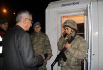Vali Kılıç'tan Nöbet Tutan Er Mustafa'ya Telefon Sürprizi