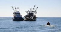 BALIK SEZONU - Abhazya'da Türk balıkçı teknelerine ceza yağdı