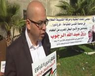 KIZILHAÇ - Açlık Grevindeki Mahkum İçin El Halil'de Protesto
