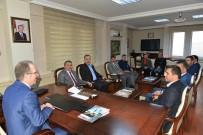 AK Parti İl Başkanı Kalaycı, Rektör Uzun'u Ziyaret Etti