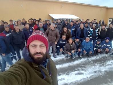 Artvin'de Maden Çalışanları Greve Gitti, Üretim Durdu