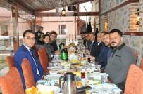 YEREL GAZETE - Başkan Akkaya Gazetecilerle Buluştu