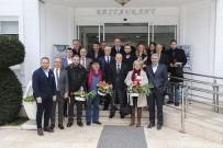 YÜCEL ÇELİKBİLEK - Başkan Çelikbilek, Çalışan Gazetecilerin Gününü Kutladı