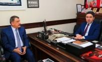 SOSYAL DEMOKRAT - Başkan Gürkan'dan CHP'ye 'Hayırlı Olsun' Ziyareti