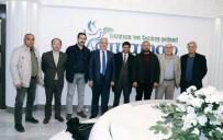 İBRAHİM ASLAN - Başkan Kutlu Gazeteciler Cemiyetlerinin Başkanlarını Ağırladı