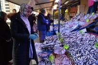 BALIK SEZONU - Bozüyük'te Balık Pazarı Kontrol Edildi