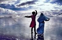 REKLAM FİLMİ - Buzla Kaplı Çıldır Gölünde Kafkas Gösterisi