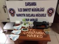 DEĞIRMENBAŞı - Çarşamba'da Uyuşturucu Ve 3 Ruhsatsız Tabanca Ele Geçirildi