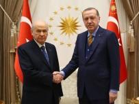 CUMHURBAŞKANLIĞI SEÇİMİ - Cumhurbaşkanı Erdoğan, MHP Lideri Devlet Bahçeli'yi Kabul Etti