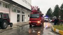 Edirne'de Fabrikada Çıkan Yangın Söndürüldü