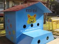 MESUT ÖZAKCAN - Efeler Belediyesi'nden Sokak Kedilerine Sıcak Yuva