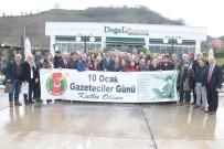 Giresun'da Basın Mensupları 'Çalışan Gazeteciler Günü' Programında Bir Araya Geldi