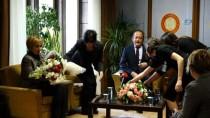 BASIN ÖZGÜRLÜĞÜ - Hamzaçebi, Gazetecileri Ziyaret Etti