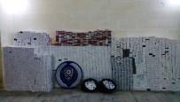 Hasankeyf'te 32 Bin Paket Kaçak Sigara Ele Geçirildi