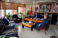 AHMET ÖZEN - Hizmet- İş Sendikası'ndan Başkan Yaman'a Ziyaret