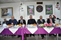 Isparta'da Gazetecilere '10 Ocak' Kahvaltısı