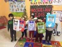 KARDEŞ OKUL - Kardeş Okullarından Gelen Hediyeleri Mutlulukla Açtılar