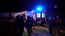YÜK TRENİ - Kütahya'da Hemzemin Geçitte Kaza Açıklaması 2 Yaralı