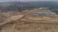 SOSYAL TESİS - (Özel) Rami  Gıda Toptancıları Hali'nin Taşınacağı Alan Havadan Görüntülendi