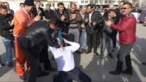 TAŞERON İŞÇİ - Taşeron İşçilerden Davullu Zurnalı Kutlama